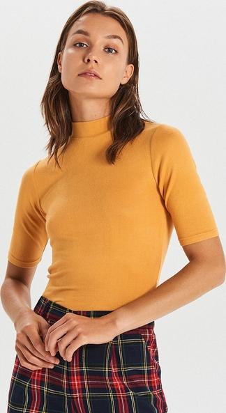 Bluzka Cropp w stylu casual z golfem