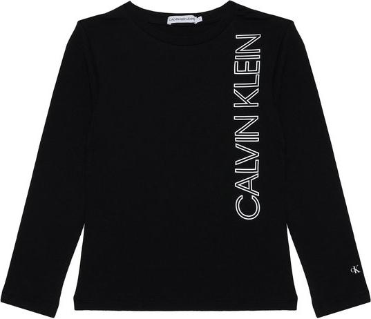 Bluzka dziecięca Calvin Klein z długim rękawem