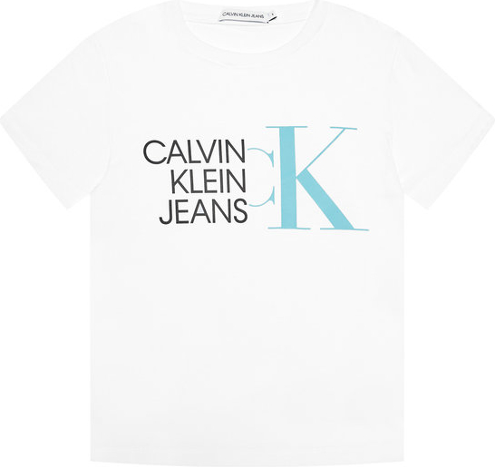Bluzka dziecięca Calvin Klein z krótkim rękawem dla chłopców
