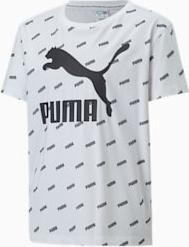 Bluzka dziecięca Puma z krótkim rękawem z bawełny