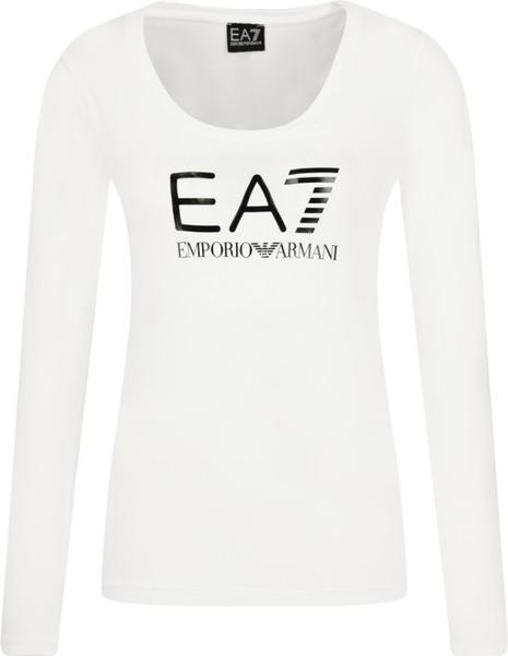 Bluzka Emporio Armani z długim rękawem