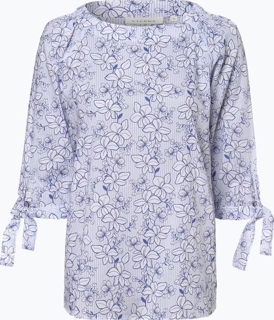 Bluzka Eterna z okrągłym dekoltem z długim rękawem