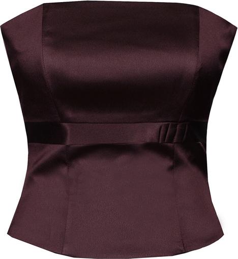 Bluzka Fokus bez rękawów w stylu glamour