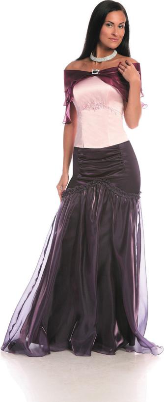 Bluzka Fokus z krótkim rękawem w stylu glamour