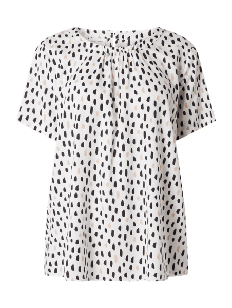 Bluzka Gerry Weber w stylu casual z okrągłym dekoltem