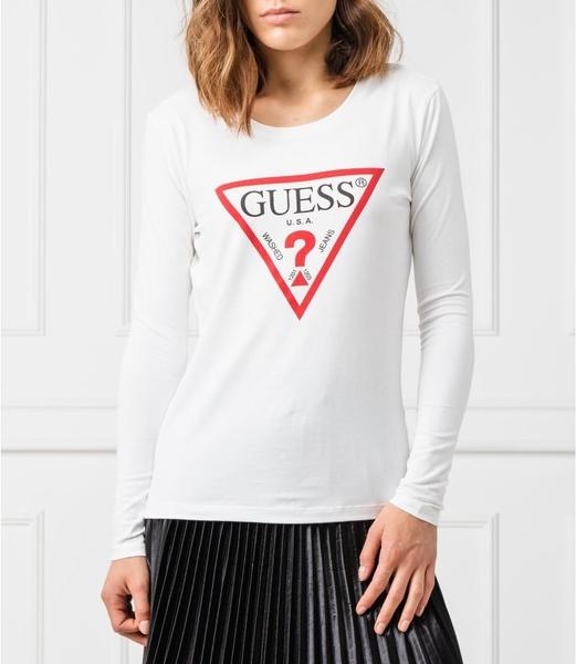Bluzka Guess Underwear z okrągłym dekoltem