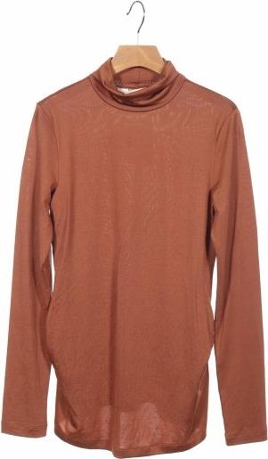 Bluzka H&M z okrągłym dekoltem z długim rękawem
