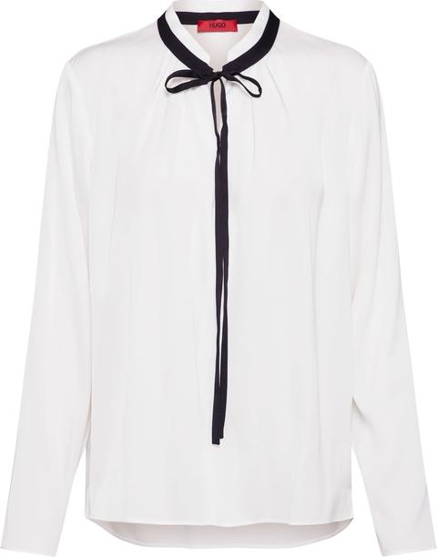 Bluzka Hugo Boss z jedwabiu