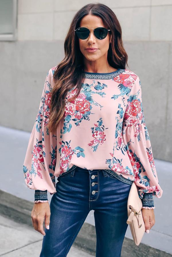 Bluzka IVET w stylu casual