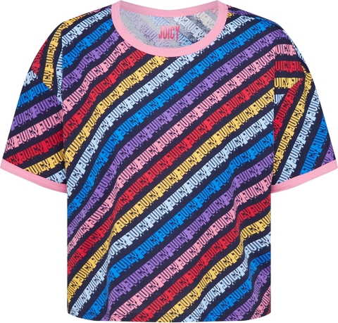 Bluzka Juicy By Juicy Couture z dżerseju