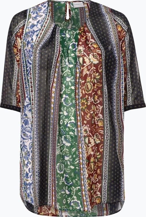 Bluzka Junarose z okrągłym dekoltem w stylu vintage
