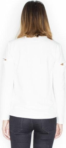 Bluzka Katrus z bawełny z długim rękawem