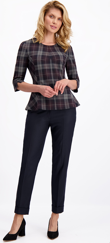 Bluzka Lavard z tkaniny
