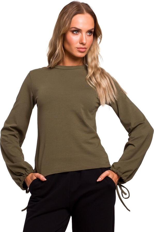 Bluzka MOE z bawełny w stylu casual