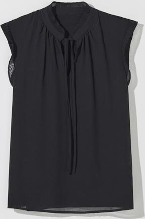 Bluzka Mohito bez rękawów w stylu casual ze sznurowanym dekoltem