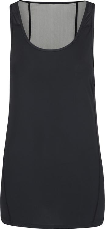 Bluzka Mountain Warehouse z tkaniny z okrągłym dekoltem bez rękawów