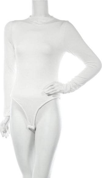 Bluzka Naked Wardrobe w stylu casual z długim rękawem z golfem