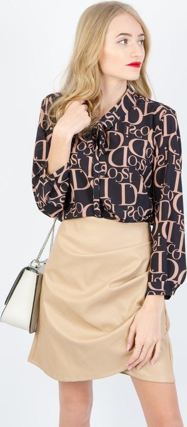 Bluzka Olika ze sznurowanym dekoltem