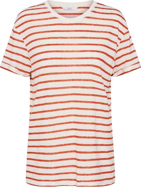 Bluzka Only w stylu casual z krótkim rękawem