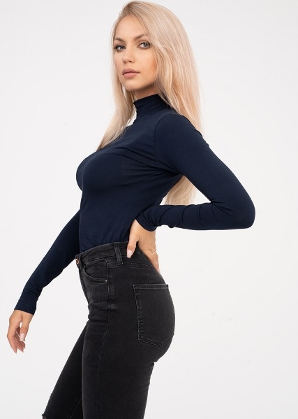 Bluzka Point X z długim rękawem w stylu casual