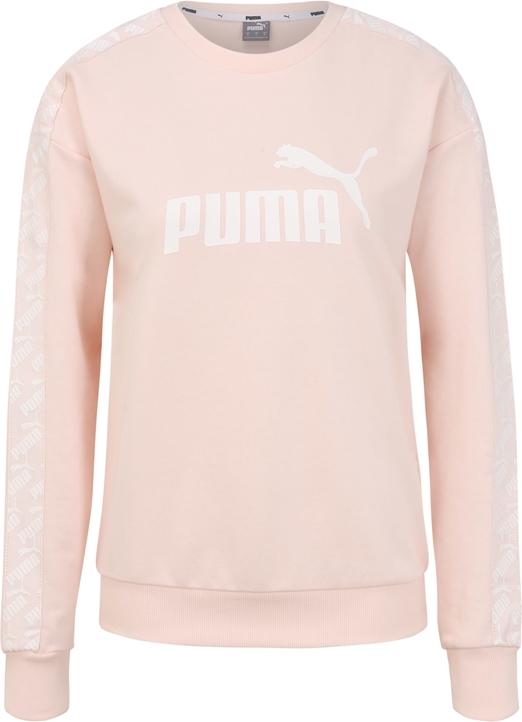 Bluzka Puma w stylu casual z dresówki z długim rękawem