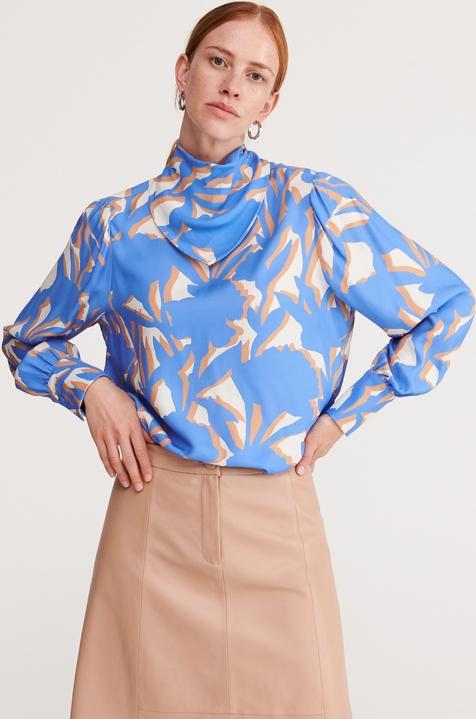 Bluzka Reserved w stylu casual z golfem bez rękawów
