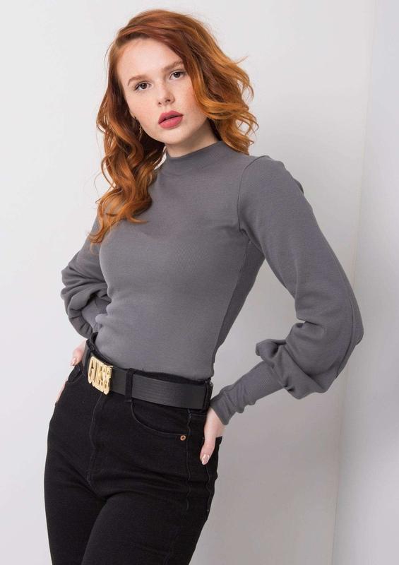 Bluzka Sheandher.pl w stylu casual z bawełny z długim rękawem