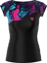 Bluzka Smmash z tkaniny w sportowym stylu z krótkim rękawem