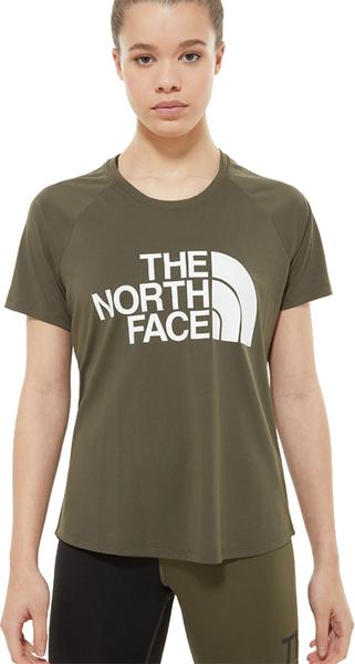 Bluzka The North Face z krótkim rękawem