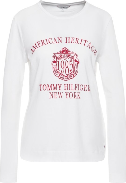 Bluzka Tommy Hilfiger z długim rękawem