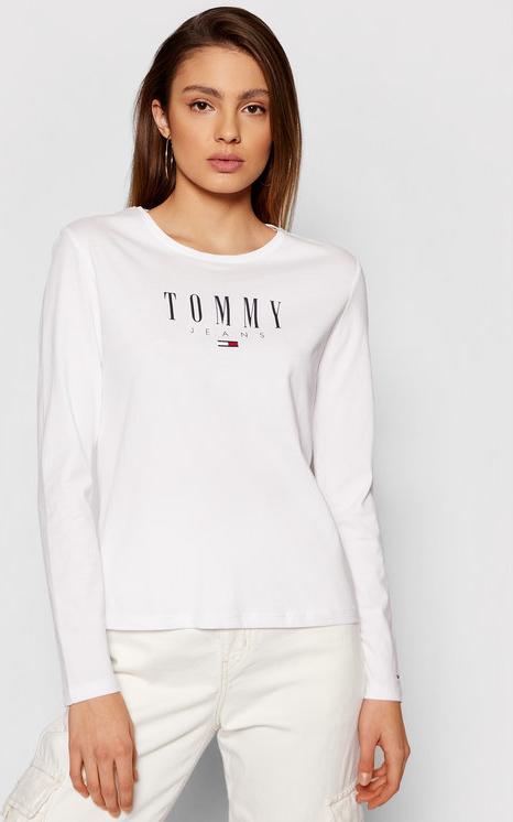 Bluzka Tommy Jeans z długim rękawem