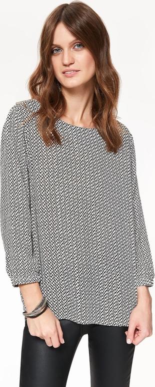 Bluzka Top Secret z długim rękawem w stylu casual z okrągłym dekoltem