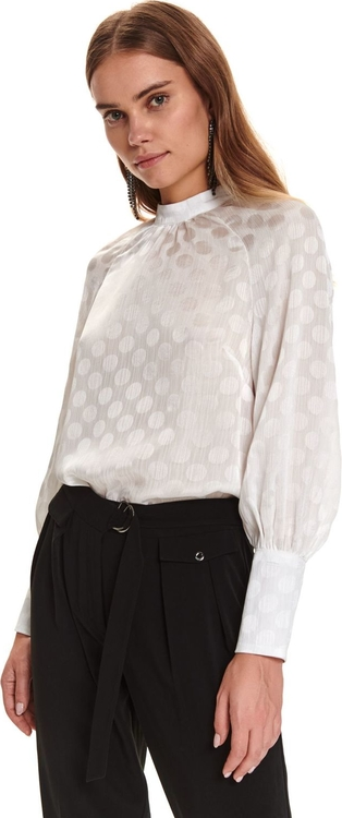 Bluzka Top Secret z okrągłym dekoltem