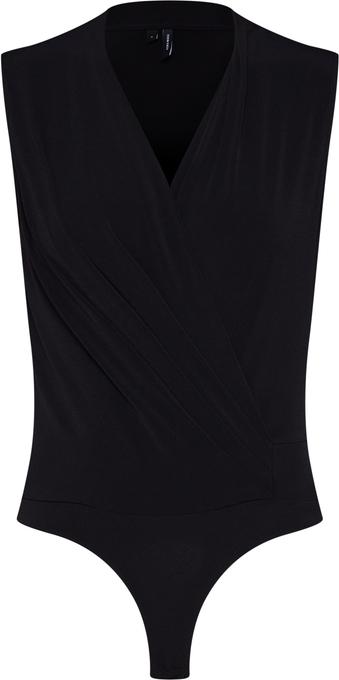Bluzka Vero Moda bez rękawów z dżerseju