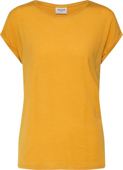 Bluzka Vero Moda z krótkim rękawem w stylu casual z tkaniny