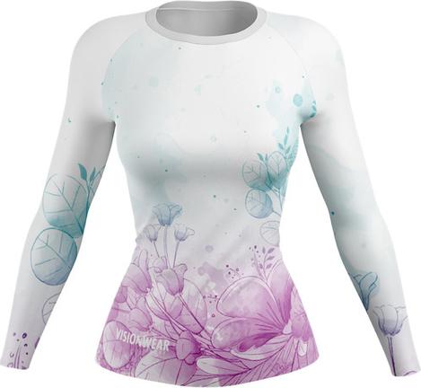 Bluzka Vision Wear Sport z tkaniny z okrągłym dekoltem