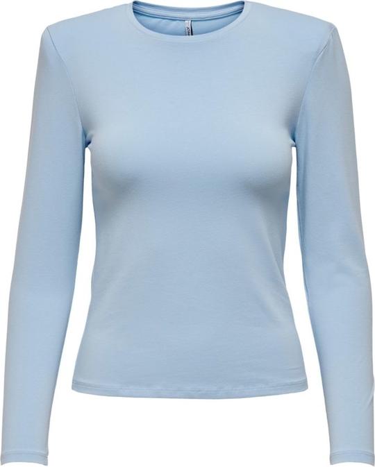 Bluzka WARESHOP z długim rękawem z bawełny w stylu casual