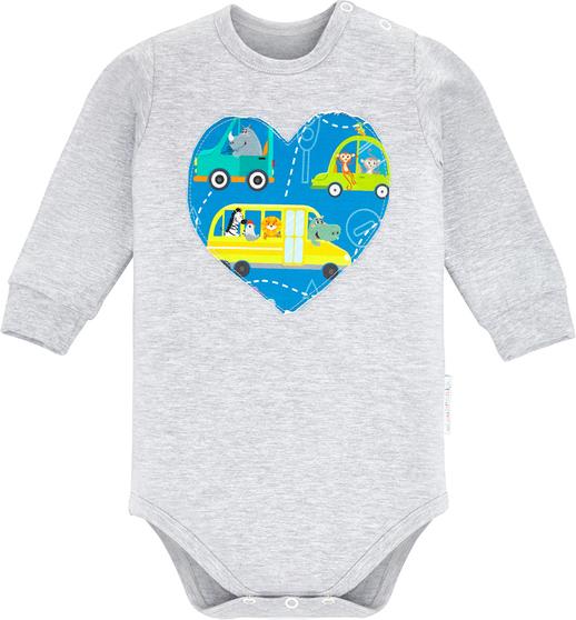 Body niemowlęce Ekoubranka dla chłopców z bawełny