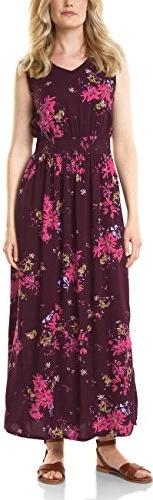 Bordowa sukienka Cecil