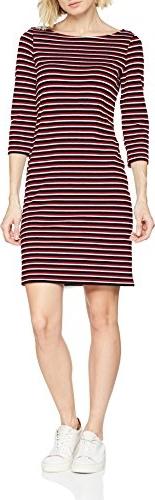 Bordowa sukienka ESPRIT