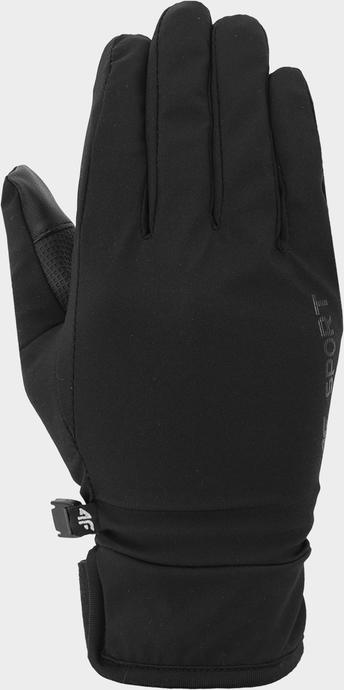 Bordowe rękawiczki 4F