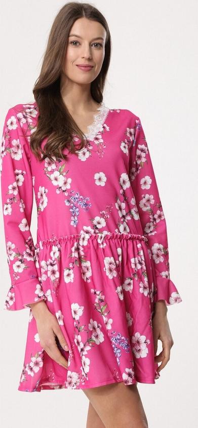 Born2be fuksjowa sukienka sleepy petal