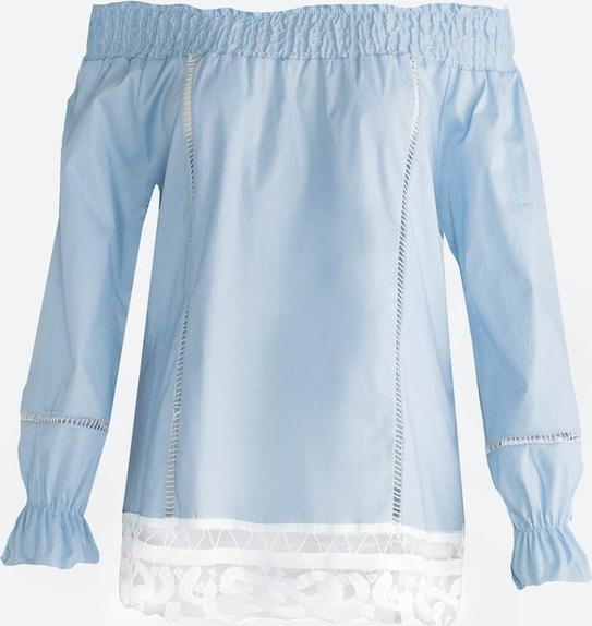 Born2be niebieska bluzka beyond belief