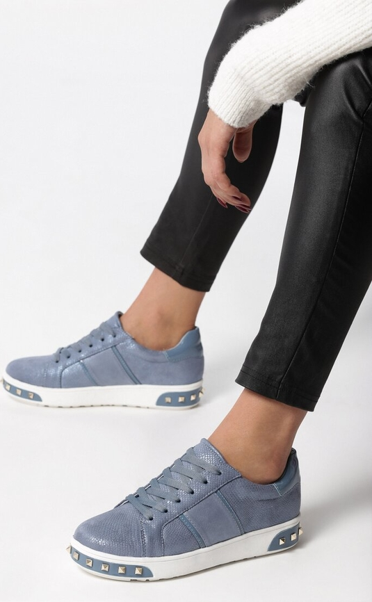 Born2be niebieskie buty sportowe capricorn