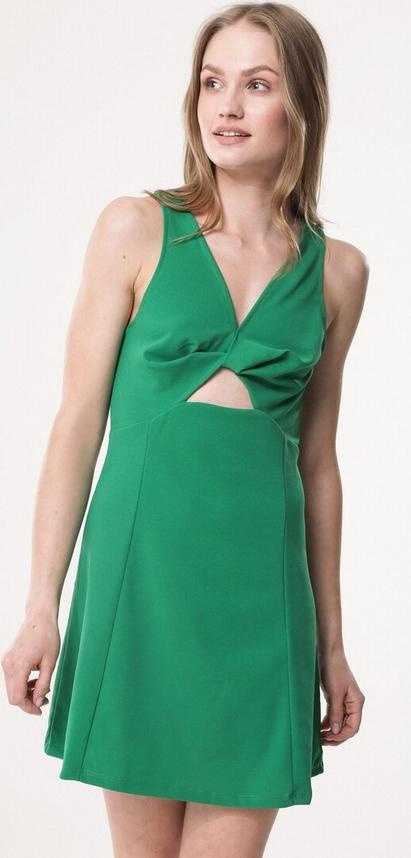 Born2be zielona sukienka one i love