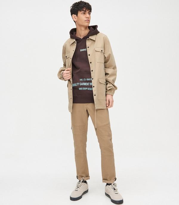 Brązowa bluza Cropp