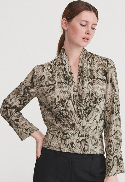Brązowa bluzka Reserved