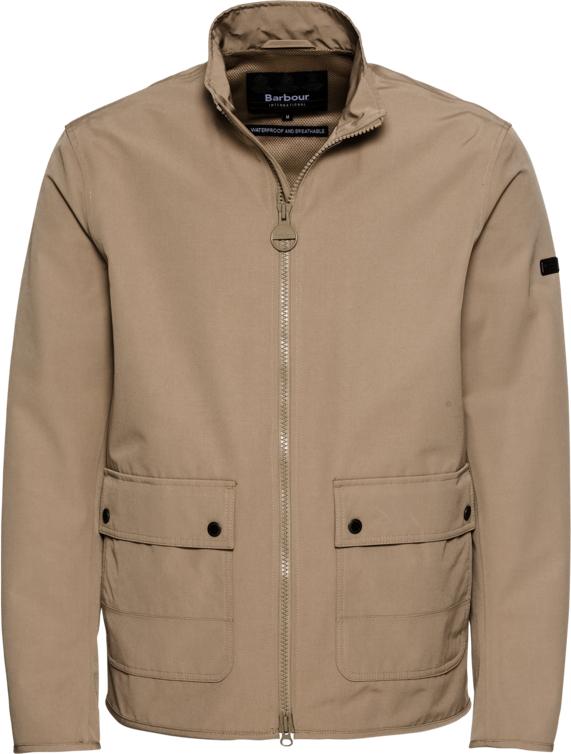 Brązowa kurtka Barbour International w stylu casual