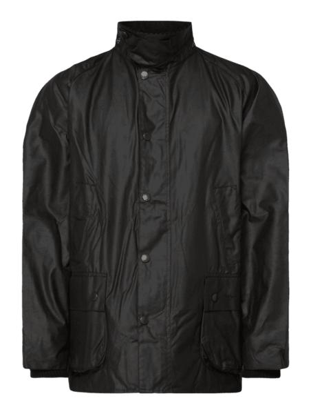 Brązowa kurtka Barbour w stylu casual ze sztruksu