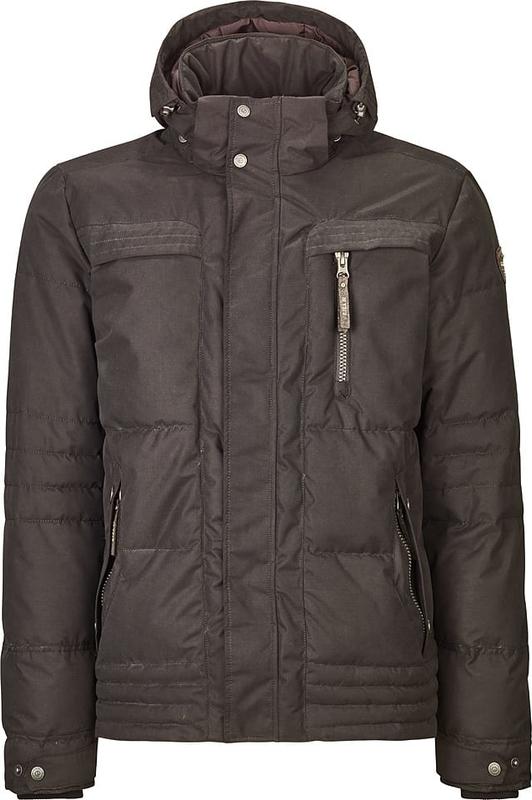 Brązowa kurtka Killtec w stylu casual krótka